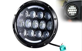led lights for motorcycle for sale on sale 1pcs new 78w 7 inch led motorcycle headlight projector