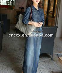 13cd1157 denim slim fit long sleeve maxi dress buy long sleeve
