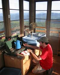 Wild Fires In Idaho And Montana by Fire Lookout Lodges Offer History Views And Uncommon Shelter