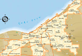 map of cleveland a great map of cleveland s neighborhoods cleveland