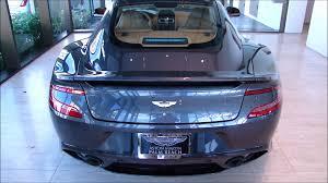 2013 Meteorite Silver Hb Aston Martin Vanquish Youtube