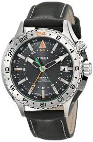 timex expedition compass watch amazon black friday timex men u0027s t2p452dh intelligent quartz 3 gmt stainless steel