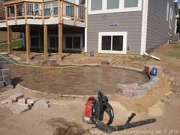 backyard multi level paver patio u0026 steps backyard multi le u2026 flickr