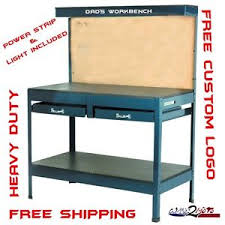 Metal Shop Desk Garage Work Bench Table Reloading Machine Shop Similar Gladiator