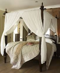 Curtains For Canopy Bed Wooden Canopy Bed With White Curtains Wooden Canopy Curtain