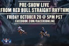 live motocross racing racer x pre show live from straight rhythm friday racer x online