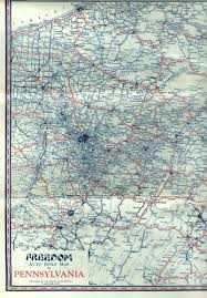 Map Of Northeast Ohio by 1920 U0027s Oil Company Road Maps Of Pennsylvania