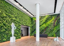 indoor green wall vertiss plus bar idolza