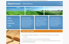 drupal different templates for different pages a sync template drupal org