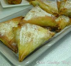 cuisine marocaine brick briouates au poulet à la marocaine à la pâte filo okla chahiya