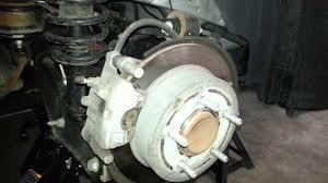 2012 dodge avenger rear brake caliper bracket u0026 rotor changing