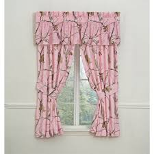 Realtree Shower Curtain Realtree Pink Camo Curtain And Valance Set