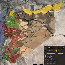 Maps Syria by Map Of Syria Shows What Isis Is Truly Fighting For Business Insider