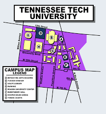 Okstate Campus Map Tennessee Tech Campus Map Wisconsin Map