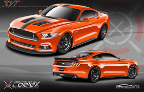 sema 2015 mustang 2015 sema mustang gt cortex racing