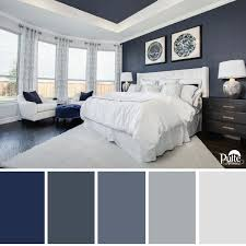 Master Bedroom Color Schemes This Bedroom Design Has The Right Idea The Rich Blue Color