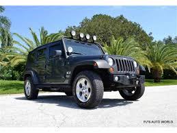 2007 jeep wrangler for sale classiccars com cc 1026660