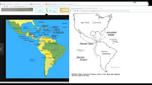 Usa Map North South East West by The Mandela Effect The Panama Canal Ran East To West In Another