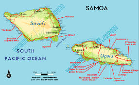 map samoa samoa western wannasurf surf spots atlas surfing photos maps