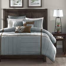 Jcpenney Comforter Sets Amazon Com Madison Park Dune Comforter Set Queen Grey Home