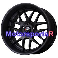 Black Mustang Black Rims Xxr 526 Wheels 18 Semi Gloss Black Rims Staggered 5x4 5 98 99 04