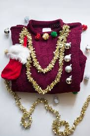 national ugly sweater day diy project idea