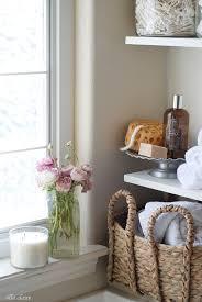 shelving ideas for bathrooms diy bathroom linen shelves ella