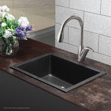 Granite Kitchen Sink Ideas Elegant Endearing Granite Kitchen Sinks With Mesmerizing