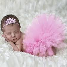 baby props infant tutu design costume newborn baby skirt