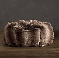 Faux Fur Bean Bag Chairs Fur Bean Bags Foter