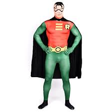 Red Robin Halloween Costume Cheap Robin Superhero Costumes Aliexpress
