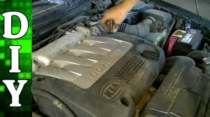 how to remove and replace a valve cover gasket kia spectra 1 8l