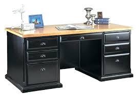 Dual Monitor Computer Desks Executive Desk Plans Computer Desk Onyx Pedestal