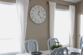 Home Decor Kelowna Rustic Farmhouse Clock U2014 Rustic Chalk Decor