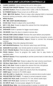 rca remote manual 3931367 party projector karaoke movie music system user manual