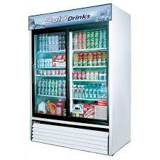 Glass Door Home Refrigerator by Tgm 48r B Slide Door Refrigerators Glass Door Merchandisers