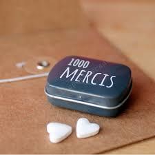 1000mercis mariage mini boite de bonbons 1000 mercis les petits cadeaux
