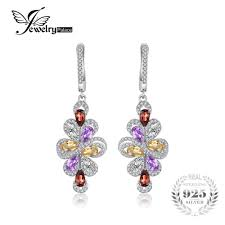 trendy earrings natrual amethyst garnet citrine 3 6ct green amethyst trendy
