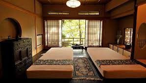 Japanese Bedroom Amazing Traditional Japanese Bedroom With Twin Bed Interior Design
