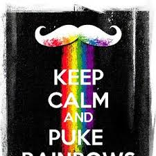 Meme Puking Rainbow - keep calm and puke rainbows by bread meme center