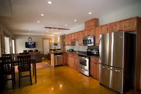 Kitchen White Kitchen Open Concept Open Concept Kitchen Floor