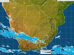 Map Of Southern Africa by Kobus Botha Weather Photos Of Southern Africa Weather And Rain