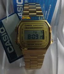 Jam Tangan Casio Gold susasuit casio gold a168wg 9wdf