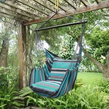 Hammock Hanging Chair Lazyrezt Hanging Hammock Chair 100pct Cotton Material 120 Cm Wide