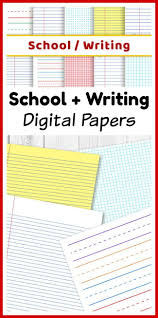 lined writing paper with picture space 2432 best clipart by and for teachers images on pinterest clip school digital papers preschool writing paper math graph paper lined papers
