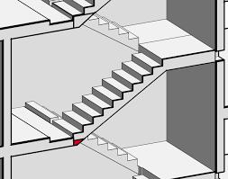 revitcity com monolithic precast concrete staircase