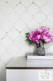 Temp Wallpaper by Marble Moroccan Temporary Wallpaper Moroccan Pattern Regular