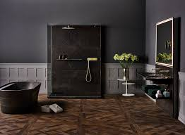 clean lines clean lines and warm colors define these modern bathroom ideas