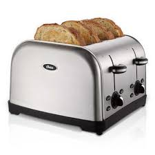 Sunbeam Oven Toaster Oster 4 Slice Toaster Brushed Stainless Steel Tssttrwf4s Np W