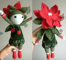 Christmas Star Kris Flower Doll Modification Made By Lidia B